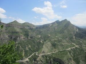 Дорога в Горный ботанический сад Дагестанского научного центра