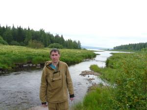 Начальник экспедиции Дмитрий Феоктистов