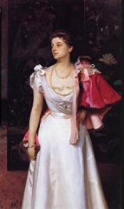 София Демидова на портрете Д. Сарджента (1896)