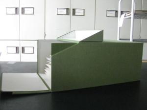 Коробка для работы с гербарными образцами Гербария Королевских ботанических садов Кью