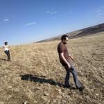 Ботаники Денис Кривенко и Ольга Чернышёва в поисках своих объектов