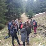 Александр Ташев ведет полевую практику у студентов-экологов