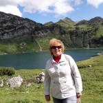 На фоне Формаринового озера